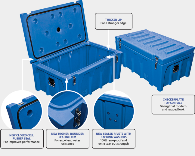 Gough Plastics - Tanks, Troughs, Tuff-A-Box, Plastic